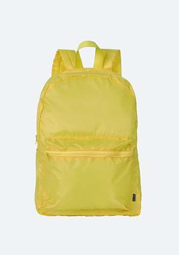 Foldable backpack, Yellow