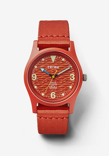 Watch, Ocean Plastic, Orange