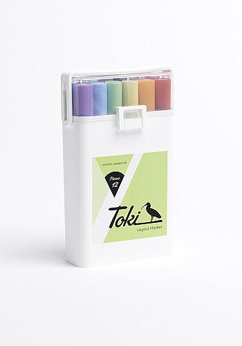 Twin tip markers, Toki