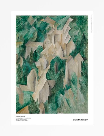 Georges Braque, The castle at Roche-Guyon
