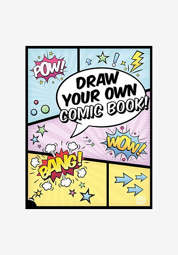 Draw Your Own Comic Book! aktivitetsbok