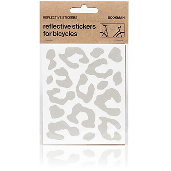 Reflective stickers for bicycles, Light leopard