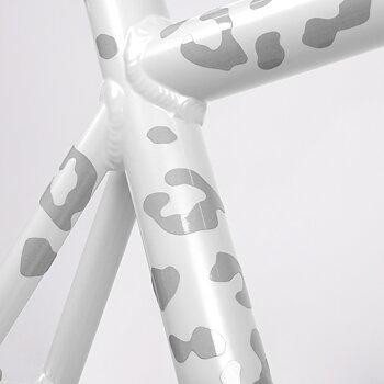 Reflexstickers till cykel, Ljus leopard