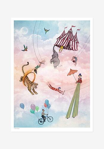 Poster, Johanna Magoria, Circus in the sky