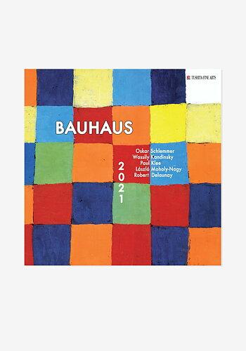 2021 Wall calendar, Bauhaus