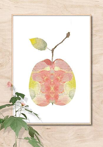 Poster, Lotta Olsson, Äpple