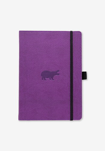 Skrivbok, Lila flodhäst, A5