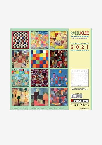2021 Wall calendar, Paul Klee
