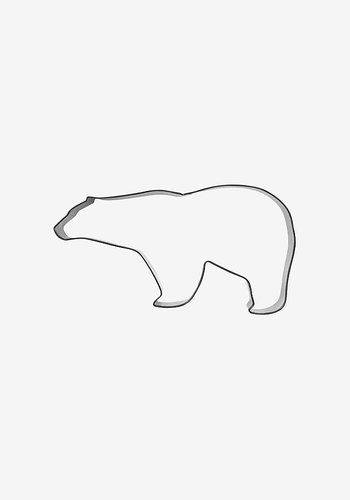 Cookie cutter, Polar bear