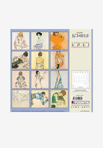 2021 Väggkalender, Egon Schiele