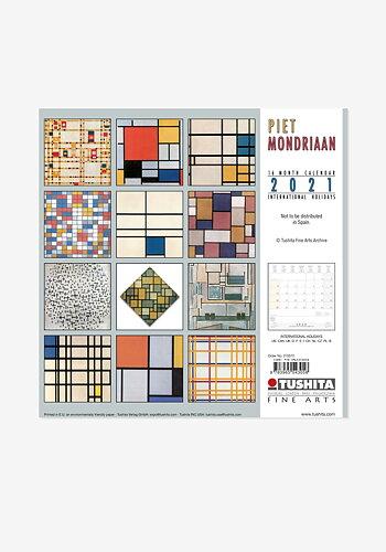 2021 Väggkalender, Piet Mondriaan
