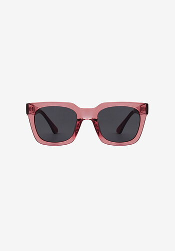 Sunglasses, Nancy Soft Red Transparent