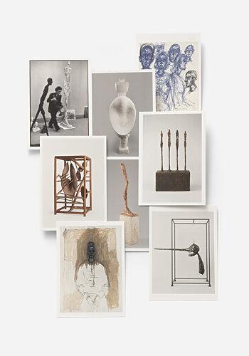 Vykortspaket, Alberto Giacometti