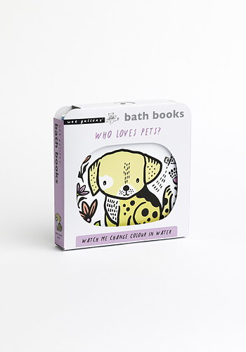 Bath book, Who loves Pets?