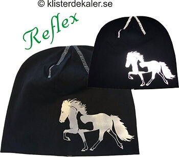 Hat Icelandic horse