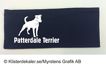 Patterdale Terrier headband