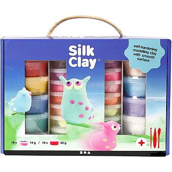 Silk Clay® Presentask, Mixade Färger, 1