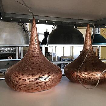 Koppar  Belysning - handgjord