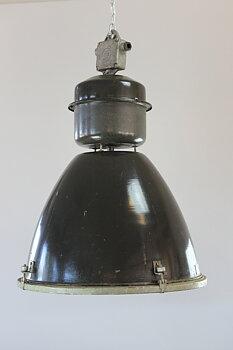 Stor Original Industrilampa - Glasplatta