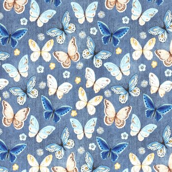 Fjärilar på jeanslook