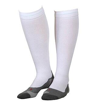 Gococo sport - kompressionsstrømper til løb, hvid