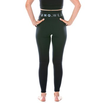 FUNQ WEAR Seamless Tights - High Waist Shaping, svarta
