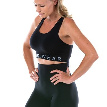 FUNQ WEAR seamless sports-bh, sort