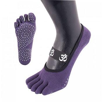 ToeToe yoga sokken antislip  - kort, lavendel