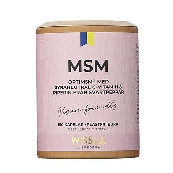 MSM med C-vitamin och Svartpeppar från Wissla