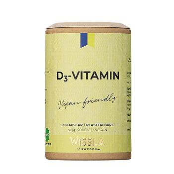 Vegansk D3-Vitamin från Wissla