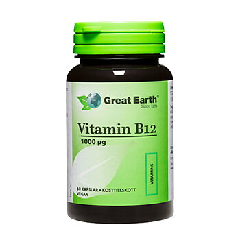 Great Earth Vitamin B12, Metylkobalamin
