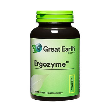 Great Earth Ergozyme, 90 tabletter