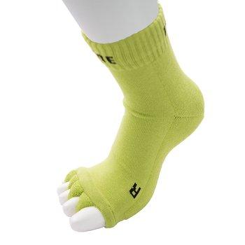 ToeToe Health teenscheider-sokken, Groen