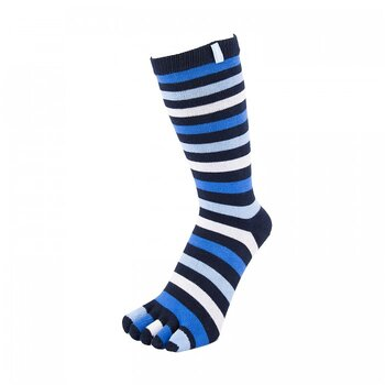 ToeToe Essential teensokken - Striped Denim