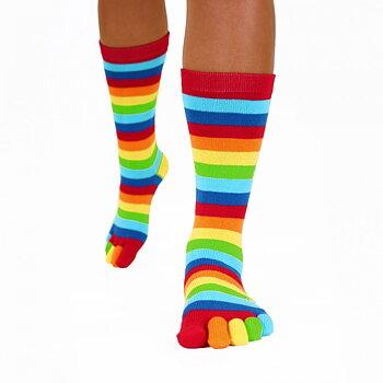 ToeToe Essential teensokken - Rainbow