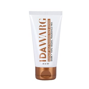 IDA WARG - Instant Self-Tanning Face Lotion Dark 50ml