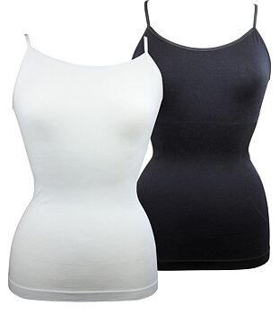 Flot shapewear top uden syninger