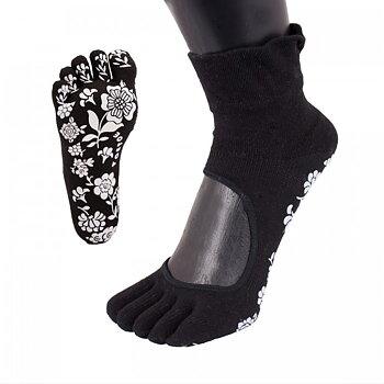 ToeToe yoga sokken antislip  - zwart