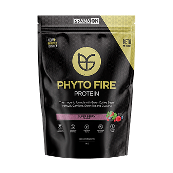 PranaOn Phyto Fire Protein – Super Berry, 1kg