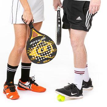 FUNQ WEAR Tennissokker, svarte med striper