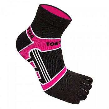 ToeToe teensokken sport - Roze