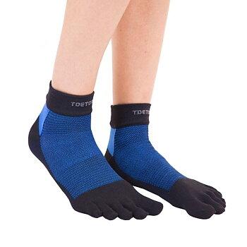 ToeToe Outdoor Liner Trainer - Zwart & blauw