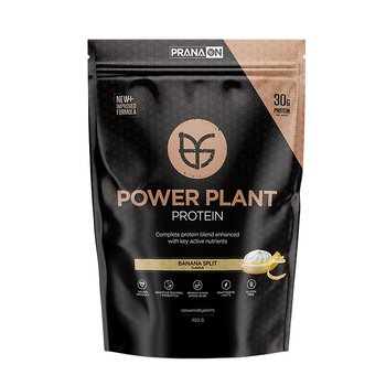 PranaOn Power Plant Protein Banana Split, 400g