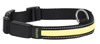 Ljus- och reflexhalsband 34-41 cm