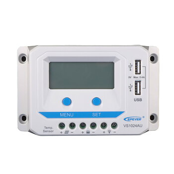 Laddningsregulator ViewStar PWM VS1024AU 12/24V 10A