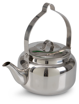 Kaffepanna rostfritt stål 2L