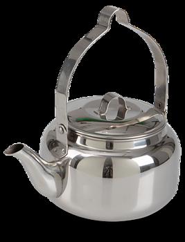 Kaffepanna rostfritt stål 1L