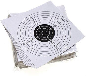 Måltavla Standard 10 ringar 50-pack