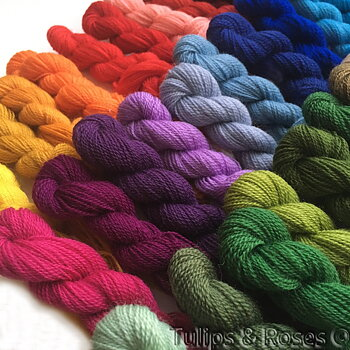 Worsted embroidery thread 20/2