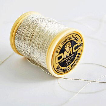 Metallic thread silver DMC 283A